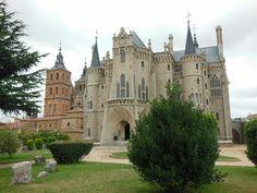 Palacio Episcopal de #Astorga en #Leon (#España).  http://www.europeosviajeros.com