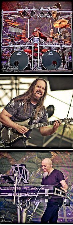 Actuació del grup Dream Theater al Sant Jordi Club BCN (gener 2014)