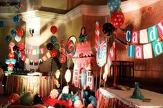 Candy Land Theme Party Decoration