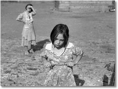 Eyes of the Great Depression 004 -- Child of the Depression; Washington, Yakima Valley, near Wapato. One of Chris Adolph's younger children. Farm Security Administration Rehabilitation clients; photo by Dorothea Lange,  August 1939. http://www.zazzle.com/exit78/%22child+of+the+depression%22+gifts http://www.zazzle.com/exit78*