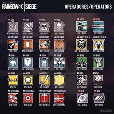 Round four! Vote out your least favorite operator Rainbow Six Siege Poster, Rainbow Six Siege Anime, Rainbow 6 Seige, Rainbow Six Siege Memes, Tom Clancy's Rainbow Six, Rainbow Art, Rainbow 6 Siege Operators, R6 Siege Operators, Raimbow Six