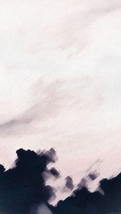 Download wallpaper: http://goo.gl/z3vLWv ad26-paint-sky-white-cloud-art via freeios8.com - iPhone, iPad, iOS8, Parallax wallpapers
