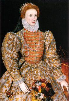 Queen Elizabeth I - 1558-1603.