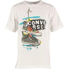 Buy Converse Junior T-Shirt White at mandmdirect.com