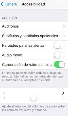 Accesibilidad para personas con discapacidad auditiva en los dispositivos apple