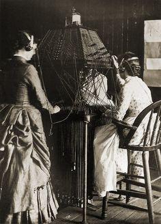 Women operators in Richmond, Virginia, 1884