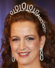 Tiara Mania: Diamond Tiara worn by Princess Lalla Salma of Morocco.