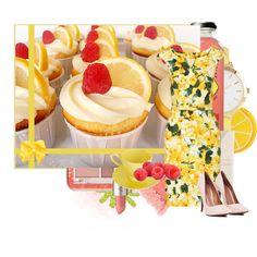 """Raspberry Lemon"" by ejhudson on Polyvore"