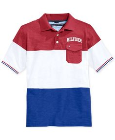 Tommy Hilfiger Little Boys' Winston Polo