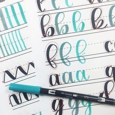Everything you need to get started lettering: a comprehensive guide   www.brittanyluiz.com