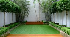 modern samll garden design fulham chelsea battersea london 2015