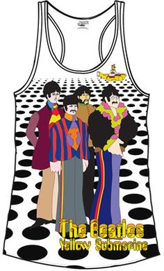 LADIES SEA OF HOLES TANK TOP [5866] - $25.00 : Beatles Gifts, The Fest for Beatles Fans