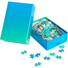 whoa, ombre. for the serious puzzler. via swiss-miss.com