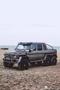 Expensive cars mercedes benz g wagon 28 ideas Mercedes G Wagon, Mercedes 6x6, Mercedes Benz G Class, Mercedes Sport, Cool Sports Cars, Sport Cars, Classe G 6x6, Carros Suv, Dream Cars
