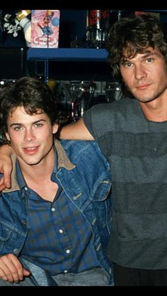 Rob Lowe and Patrick Swayze