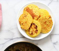 Lentil Fritters in Eggplant, Sweet Potato Coconut Stew - Bengali Inspired Chapor Ghonto. Indian Veggie Stew with Moong Dal patties. #Vegan #Glutenfree #Indian #Recipe #veganricha | VeganRicha.com
