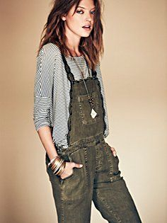 Louisa Embroidered Overall in Girl-From-the-North-Country