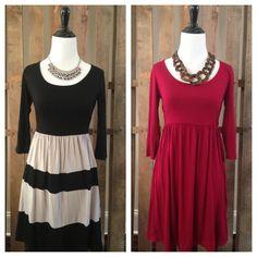 Jersey Knit dresses