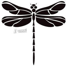 Dragonfly Stencils on Stencil Revolution
