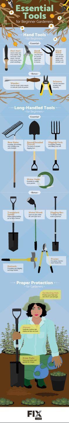 What Gardening Tools a Beginner Needs | Fix.com