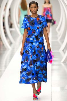 Ethnic Fusion --- Roksanda Spring 2015 Ready-to-Wear - Collection - Gallery - Look 21 - Style.com