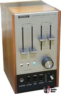 Vintage Sony TA-88 Amplifier  https://www.pinterest.com/0bvuc9ca1gm03at/