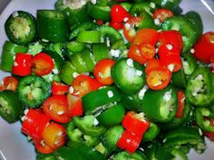 Chronicles of a Frugal Gardener: Canning Hot Peppers - in small batches