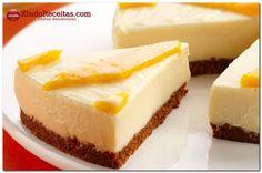 Torta gelada de leite condensado   Xtudo Receitas