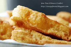 Awayofmind Bakery House: You Tiao (Chinese Cruller 油条) (No Alum Version)