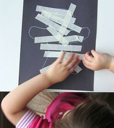 Mummy Halloween Craft For Kids - No Time For Flash Cards