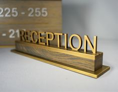 Manufacturers of Quality Signage Since 1973 Hotel Reception, Reception Signs, Reception Areas, Wayfinding Signage, Signage Design, Sign System, Trophy Design, Luxury Marketing, Suzhou
