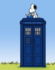 Snoopy on the TARDIS with a type writer your argument is invalid