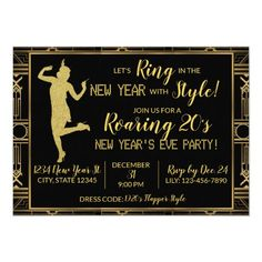 Fantastic New years eve party detail are offered on our web pages. Read more and you wont be sorry you did. Happy New Year Gif, Happy New Year Message, Happy New Year Quotes, New Years Eve Invitations, Holiday Party Invitations, Roaring Twenties Party, Adult Party Themes, New Year Card