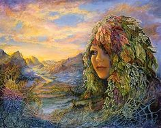"Earth Witch: #Earth #Witch ~ ""Dew Drop Dawn,"" by Josephine Wall."