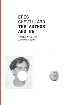 The Author and Me, Eric Chevillard (design by Dalkey Archive)