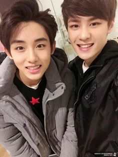 #WinKun -- Winwin and Kun .. Chinese members in Sm Rookies