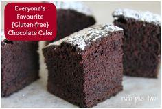 Everyone's favourite (gluten-free) chocolate cake | ruth plus two