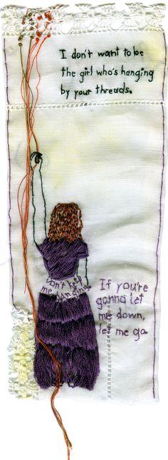 Iviva Olenick embroidery