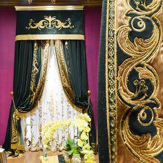 雅熙莱帝 品牌高档绣花欧式新古典客厅卧室窗帘定制哈莫尼尔 暂无