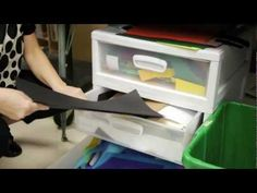 How to Stash Your Scraps - A simple system to organize paper scraps in the art room so you never waste that precious and expensive paper again!
