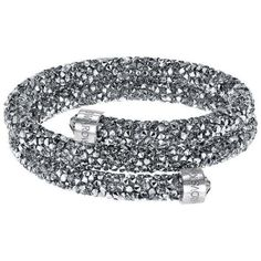 brazalete swarovski crystaldust double 5255898