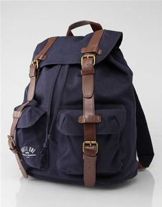 Route One canvas backpack 0b9fcbe0064a9