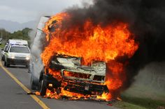 What Kind of Car Insurance Covers a Fire?