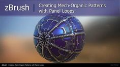 zBrush: Creating Procedural Patterns With Panel Loops