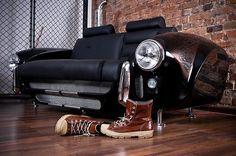 Décorez votre intérieur avec des pièces de voiture