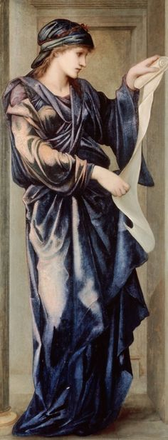 The Cumaean Sibyl. 1877. Sir Edward Burne-Jones