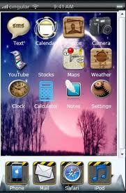 iPhone 3g theme and Icon design