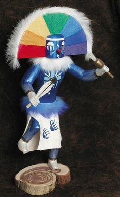 Rainbow Warrior Kachina