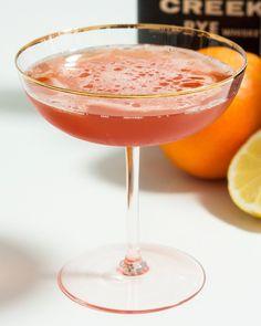 Ward Eight Serves 1  2 ounces straight rye whiskey, such as Knob Creek 1/2 ounce lemon juice 1/2 ounce orange juice 1/4 ounce grenadine 2 da...