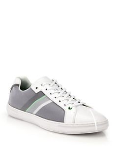 4189c8390 HUGO BOSS - BOSS Green Iconic Web Lace-Up Sneakers Shoes 2016